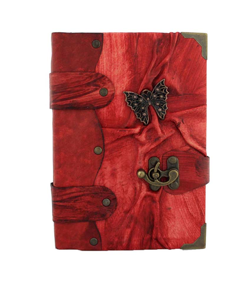 Butterfly Leather Journal on sale