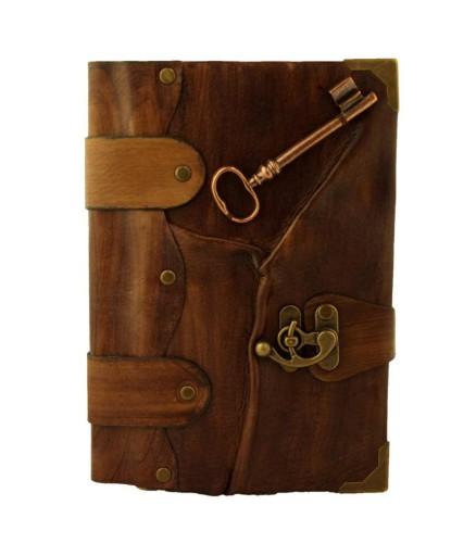 Brown-key-pendant-journal-1