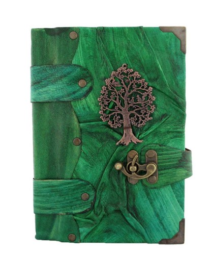 tree of life leather journal on sale