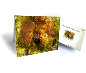 Tree Art Greeting Card Sku#7598