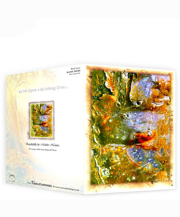 trees artwork greeting cards for sale