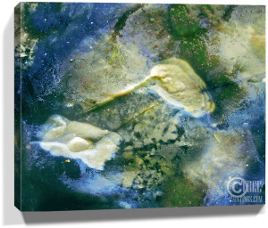 Nature Stone Artwork Wall Canvas Sku#7448