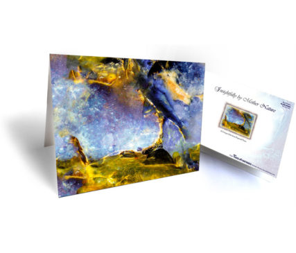 Art on stones greeting cards for sale