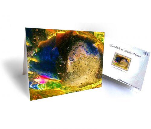 nature art greeting card