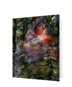 Tree Art Greeting Card Sku#3221358