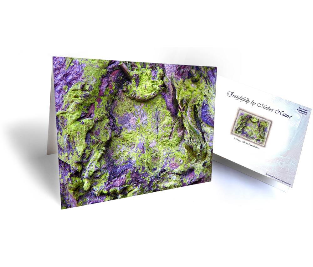 tree gift greeting card
